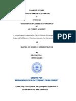 PERFORMANCE APPRAISAL PROJECT(2)(3).doc