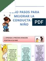 TALLER de PADRES 8 Pasos Para Mejorar La Conducta