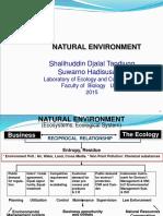 Natural Environment 2015