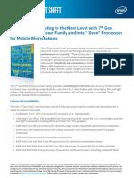 7th Gen Intel Core January Fact Sheet