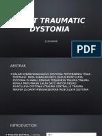 jurnal dsytonia