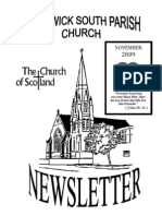 November 2009 Prestwick South Parish Church Newsletter