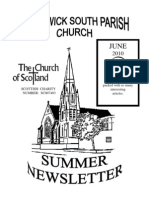 June 2010 Prestwick South Parish Church Newsletter