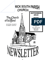 September 2010 Prestwick South Parish Church Newsletter