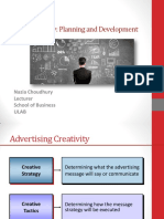 Ch 8 Ad Creative Strategy Planning and Development