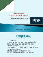 Epistemologia Junio 2014
