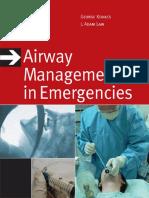 Airway Management in Emergencies