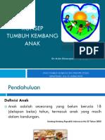Slide Konsep Tumbuh Kembang Anak 2013