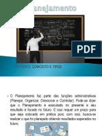 Planejamento Conceitos e Tipos