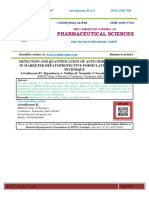 DETECTION AND QUANTIFICATION OF ANTI OXIDANT MARKERS IN MARKETED HEPATOPROTECTIVE FORMULATIONS BY HPTLC TECHNIQUE