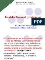 EDUCACION ARTISTICA E IDENTIDAD NACIONAL