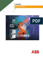 ABB Application Manual Robotware5 0 Controller IRC5 3HAC16584-1 RevB En