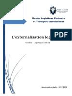 L'Externalisation Logistique