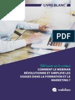 Livre Blanc Comment Le Webinar Revolutionne Et Simplifie La Formation Et Le Marketing