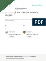 Enhancing Importance-performance Analysis