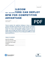 White Paper BPM for Telecom