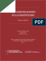 Telecomunicaciones en La Constitucion Clara Luz Alvarez 170308