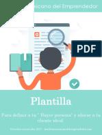 Copia de Plantilla Buyer Persona