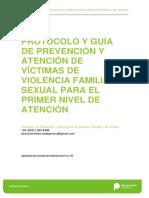 Protocolo Victimas Violencia Familiarysexual