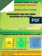 Fundamentos Para Una Teoría Sociológica