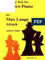 Winning With the Giuoco Piano and the Max Lange Attack - Andrew Soltis