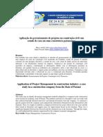Artigo ADMPG 2012 Gestão de Projetos