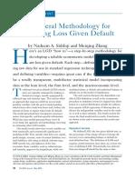 A General Methodology for Modeling Loss Given Default