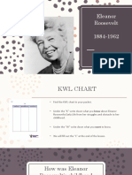 eleanor roosevelt lesson ppt