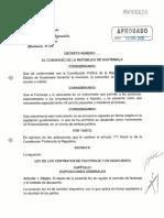Decreto 1-2018 Aprobado
