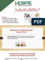 Grupo 1 - Caracteristicas de Enfoques de Investigacion Cualitativo y Cuantitativo