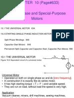 Chapter 10 Single Phase Motors EE 342