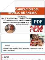 Guia Clinica Del Dx y TX de Anemia- Enero 2015