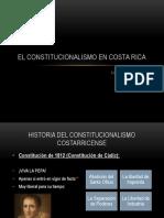 Presentación Constitucionalismo en Costa Rica