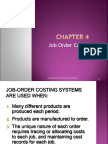 Ch. 4 Job-Order Costing