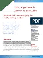 03 Nowe Metody Zaopatrywania Poszkodowanych Na Polu Walki - Sieniawski