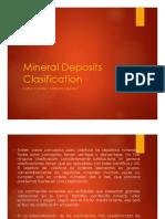 Clasificacion de Ytos Minerales