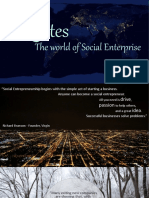 Quotes the World of Social Enterprise