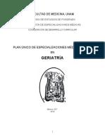 PUEM en Geriatria 2014