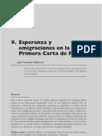 10 - Esperanza y Emigraciones en La Primera Carta de Pedro