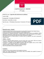 ARTICLE - BOURSEILLER, Christophe - Bibliographie - Approches Des Extremismes en Politique