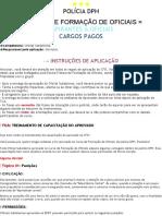 [EPFO] CFO TCA Treinamento de Capacitação Do Aprovado