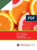 Semi Fully Automatic Brochure