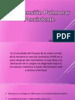 Hipertensión Pulmonar  Persistente