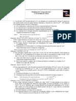 Problemas de Campo Eléctrico 2º de Bachillerato. Física