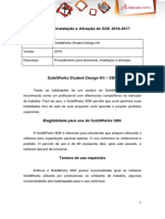 Instalação SolidWorks Student Design Kit 2016-2017