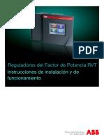 Banco de Capacitores RVT Manual ES