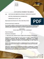 Proforma Togas Service Unfv Medicina 106 Alumnos 2018