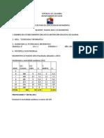 Reajuste Plan de Estudio - Sexto - 2013