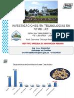 Investigaciones en Tecnologias en Semillas