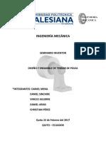 Tensor de Polea Inventor PDF